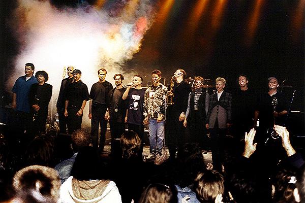 1995. Szeptember 8. a Búcsúkoncert fináléja