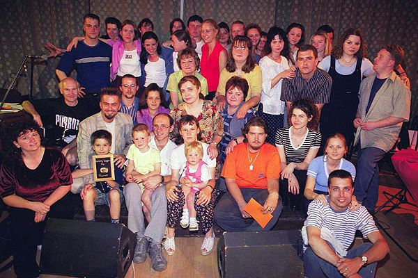 2001. 10 éves a Pierrot Klub
