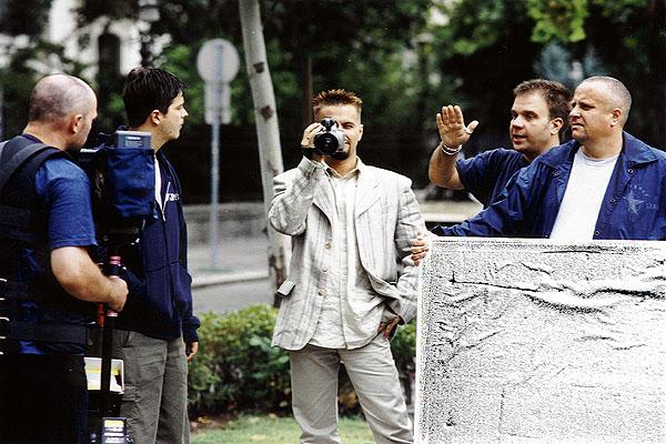 2001. Szerelemittas nyár - a klipforgatás 1.