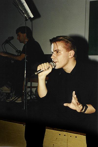 1989. A Skatulya klub egyik koncertjén