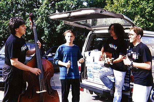 1992. Unplugged koncertek Budapest terein